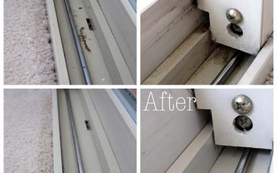 Glass Door Steam Cleaning Made Easy